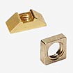 Clamps and clamping nuts