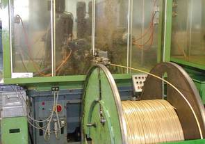 Large coil feeder