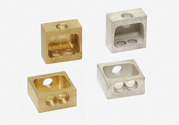 Tin-coated brass milled parts